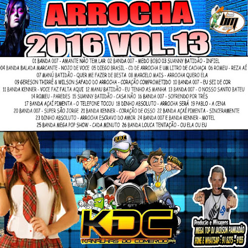 CD KDC ARROCHA VOLUME 13