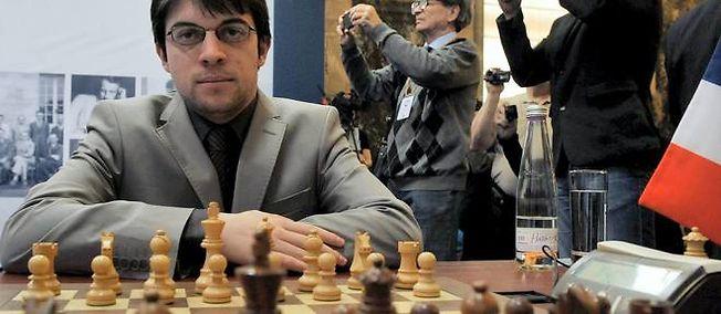 Maxime Vachier-Lagrave est à la 27ème position du classement mondial d'échecs - Photo © Olga Maltseva AFP