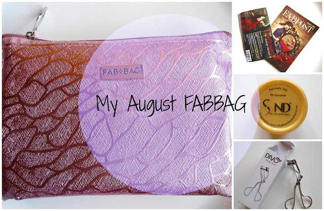 Fab Bag August 2015 Review, Price, details