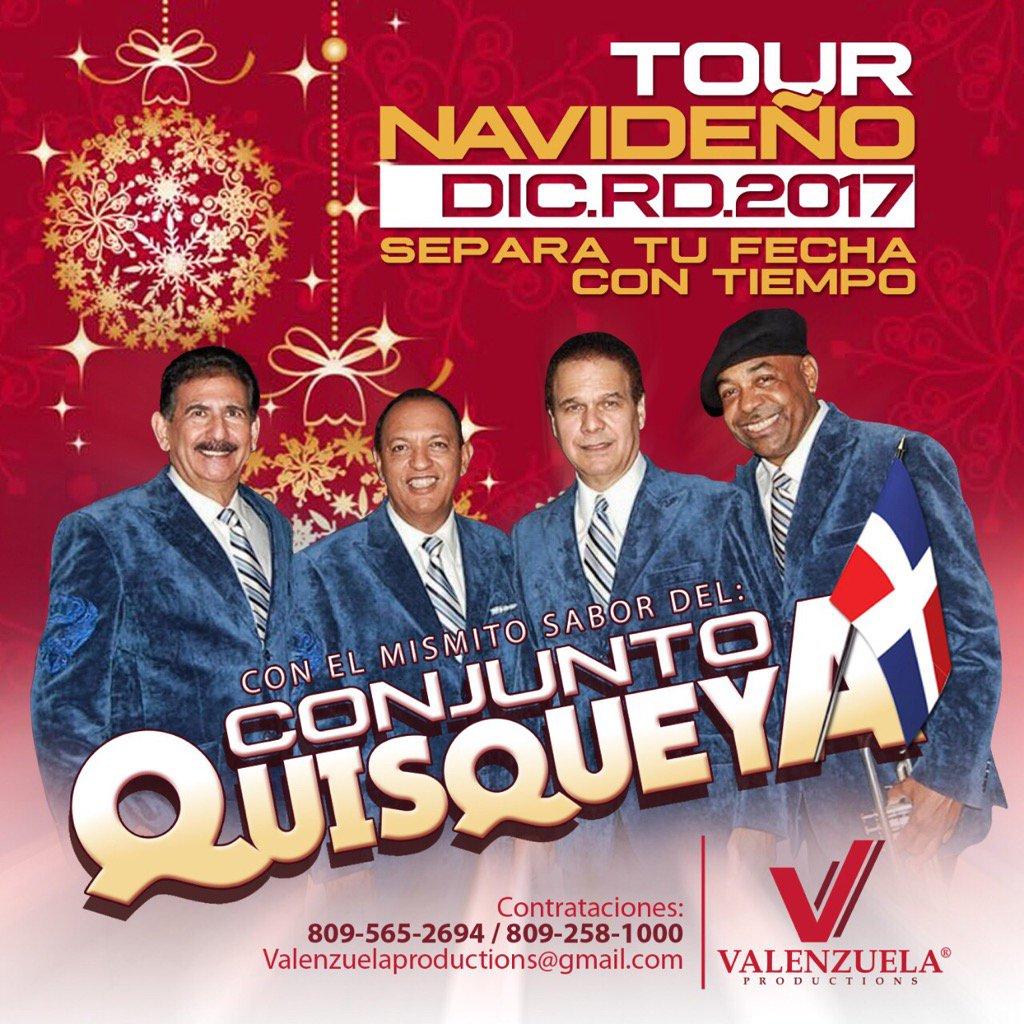 """Conjunto Quisqueya:""""Tour Navideño"""" Diciembre 2017, Información y reservas: 809.258.1000"""