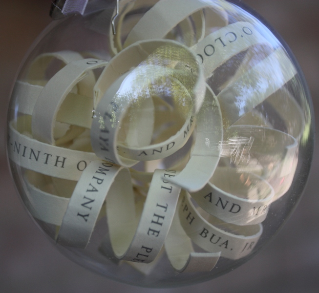 make a bauble christmas invitation for your holiday party