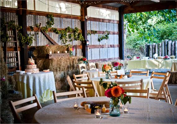 vintage reception tablescapes