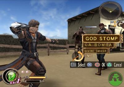 God Hand gameplay
