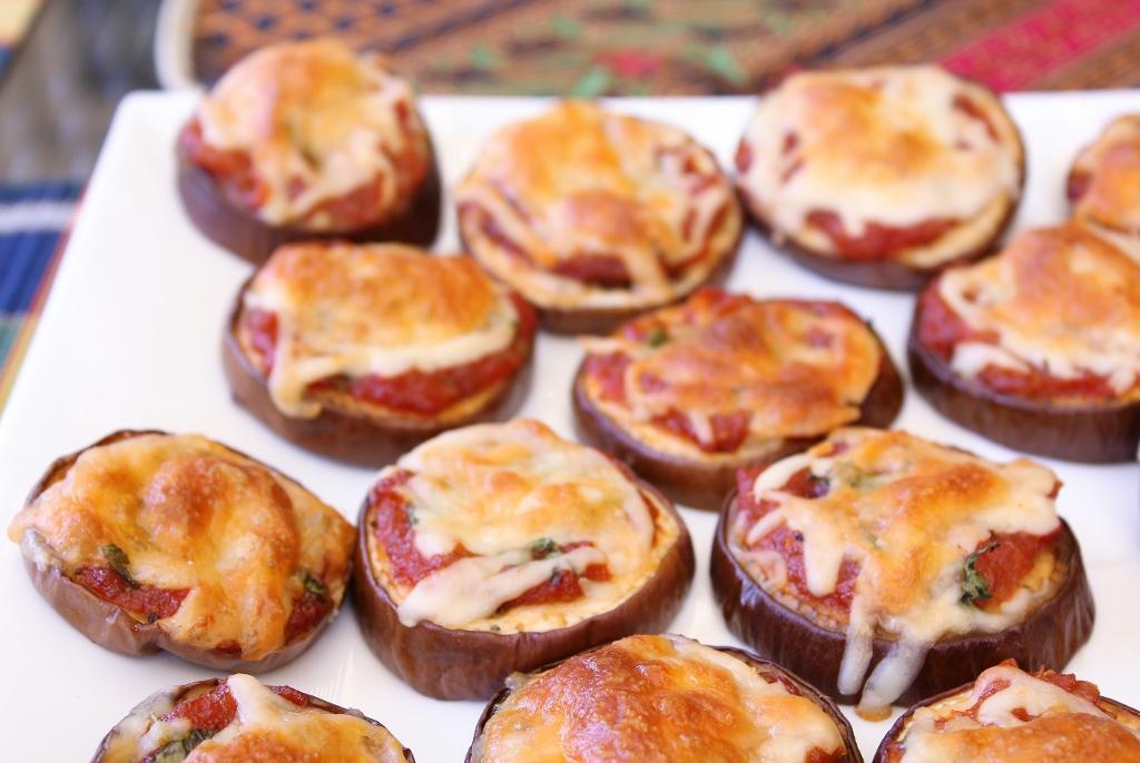 Beela Bakes: Eggplant Pizzas