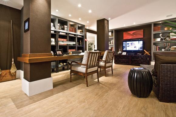 DecoraÇÃo: 30 salas com porcelanato e piso cerÂmico   cores da casa