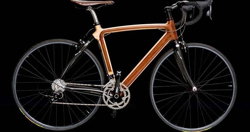 social biking blog road test the renovo wooden bicycle. Black Bedroom Furniture Sets. Home Design Ideas