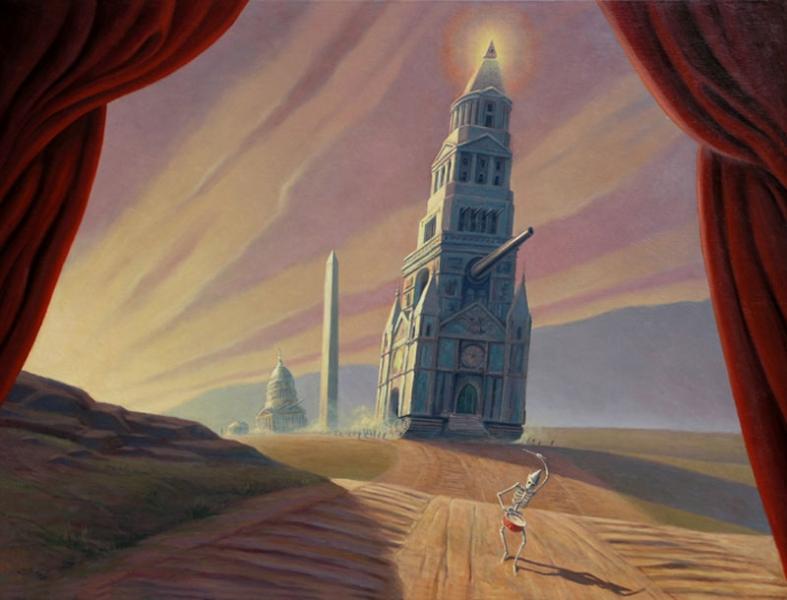 Doctor Ojiplático. Mark Bryan. Politics. Pintura | Painting