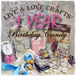 Live & Love Crafts fab 1 year Candy.