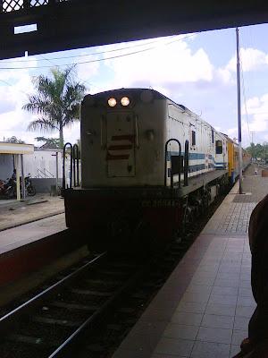 Station, Cepu train, Cepu travel
