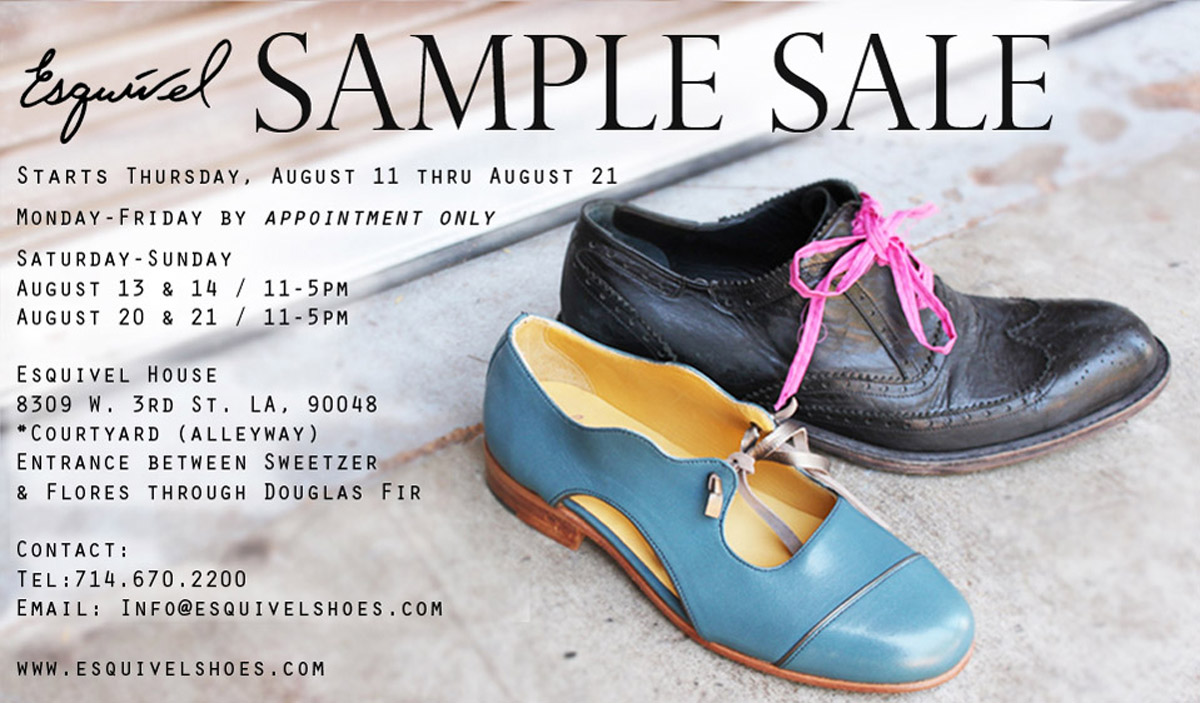 DECADES INC.: WHO DOESN'T LOVE A SAMPLE SALE?