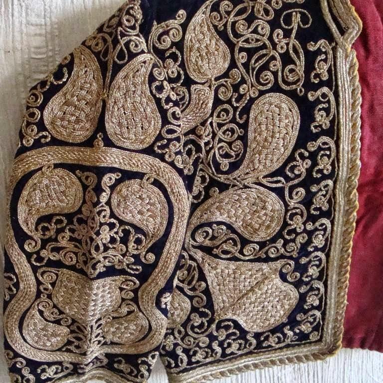 osmanlı cepkeni,cepken,antika cepken,balıkesir cepkeni,antika el işlemeleri