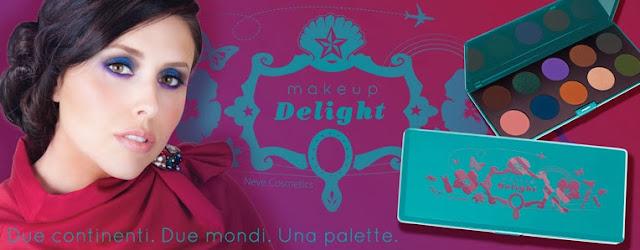palette makeup delight neve cosmetics arcobaleni