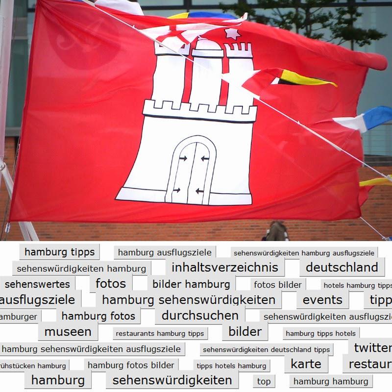 HAMBURGER Sehenswürdigkeiten: Auf diesem Blog gibt es nicht nur Bilder von Hamburg, sondern auch individuelle Tipps über Sehenswertes und Ausflugsziele. Weiterhin gebe ich Anregungen für Ausflüge mit der Familie in Hamburg und weitere Ideen für einen Ausflug in der Umgebung der Hansestadt. Zur Inhaltsangabe gelangt man durch einen Klick auf die Hamburg-Flagge!
