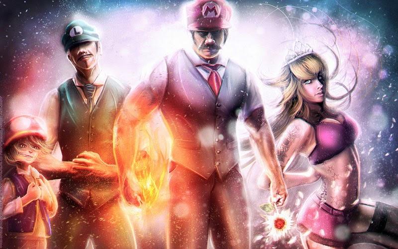 Super Mario Gang : Mafia Style