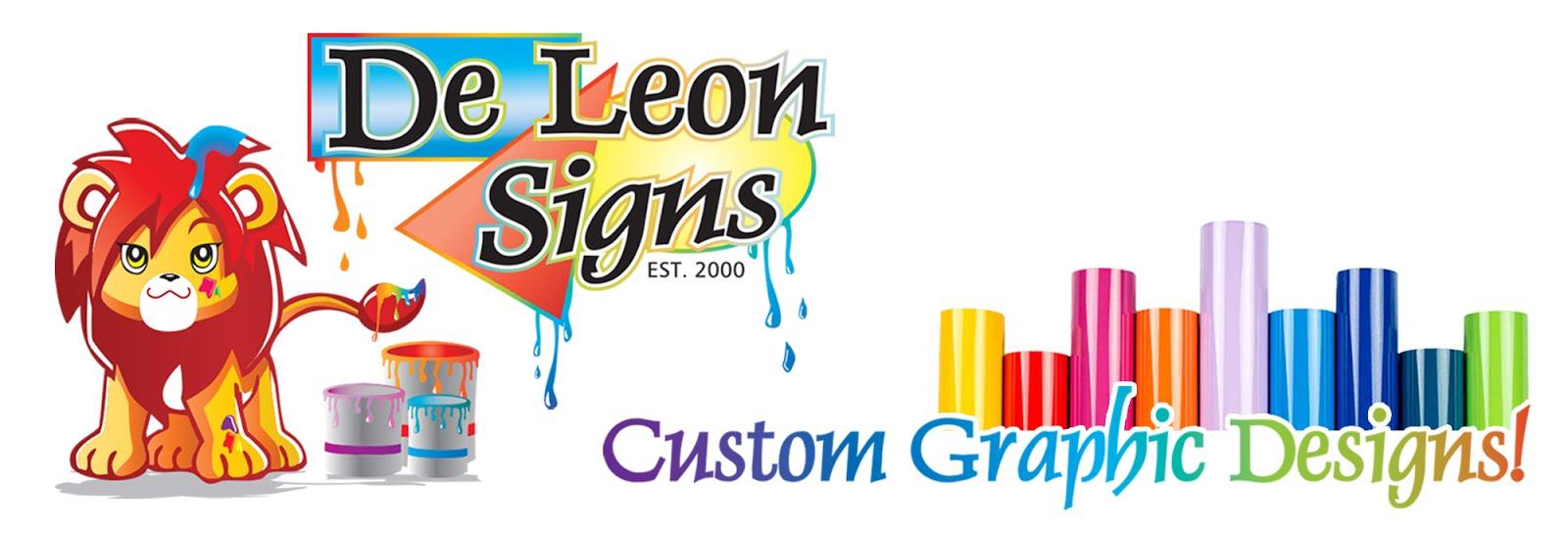 De Leon Signs