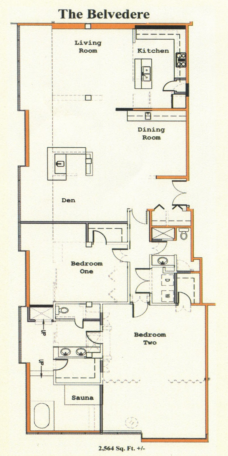 2 Bedroom Apartment Building Floor Plans