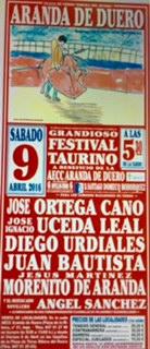 TOROS DESDE ARANDA DE DUERO 09/04/2016