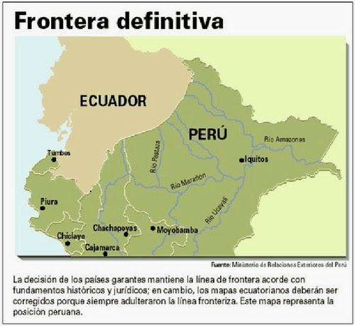 Perú - Ecuador: a 20 años de la paz