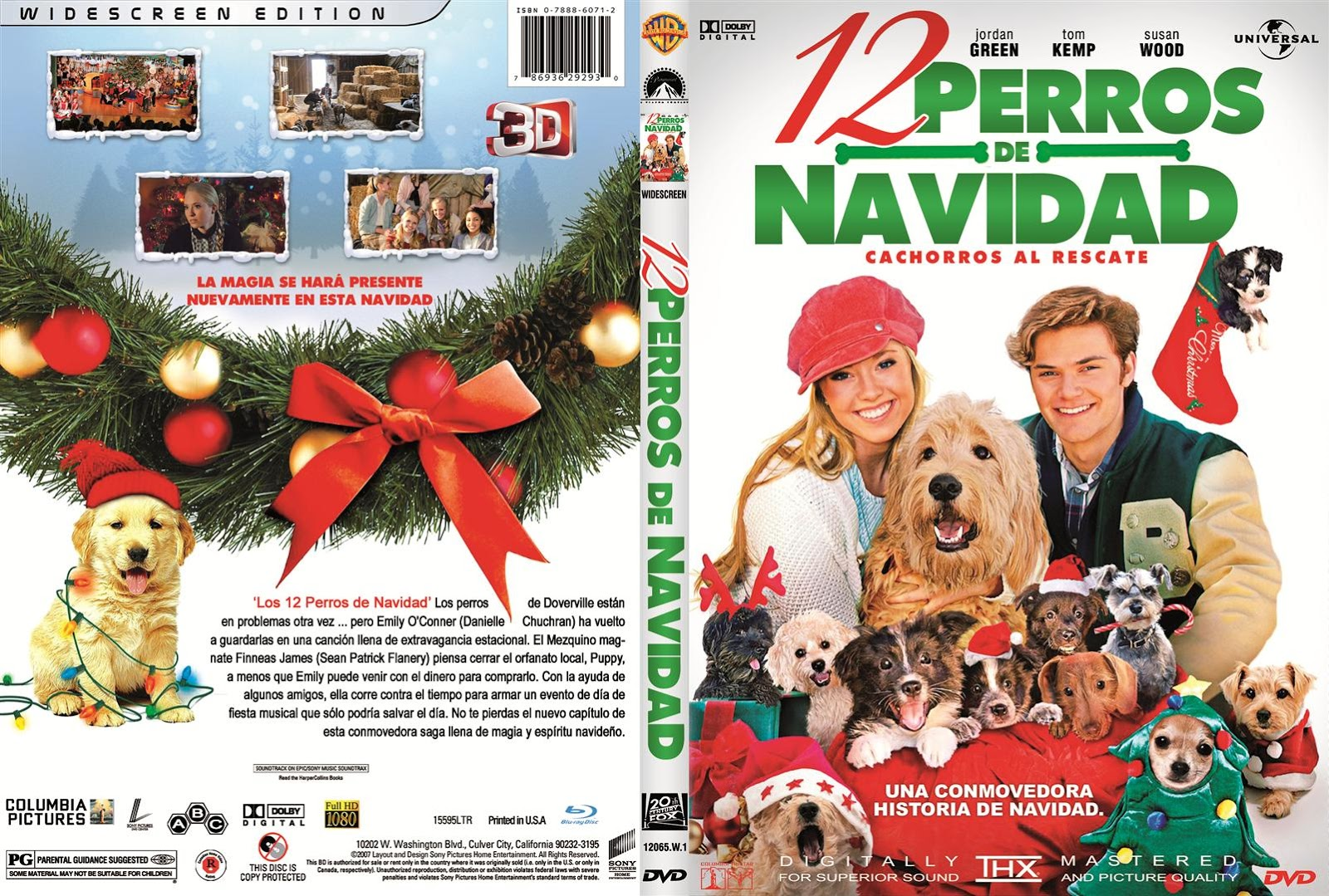 hallmark movies and mysteries one of the 12 original movies of christmas12 christmas wishes for my dog 2012 dvd - 12 Wishes Of Christmas