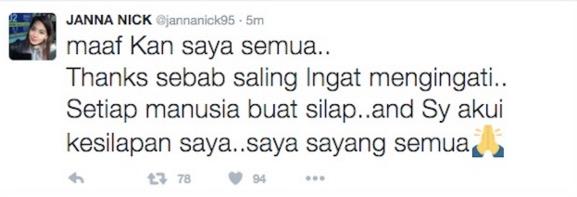 Janna Nick dikritik kerana persenda insiden MH370 semasa menonton Dilwale
