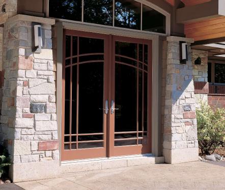 Fotos y dise os de puertas puerta acceso acristalada for Puerta acristalada exterior