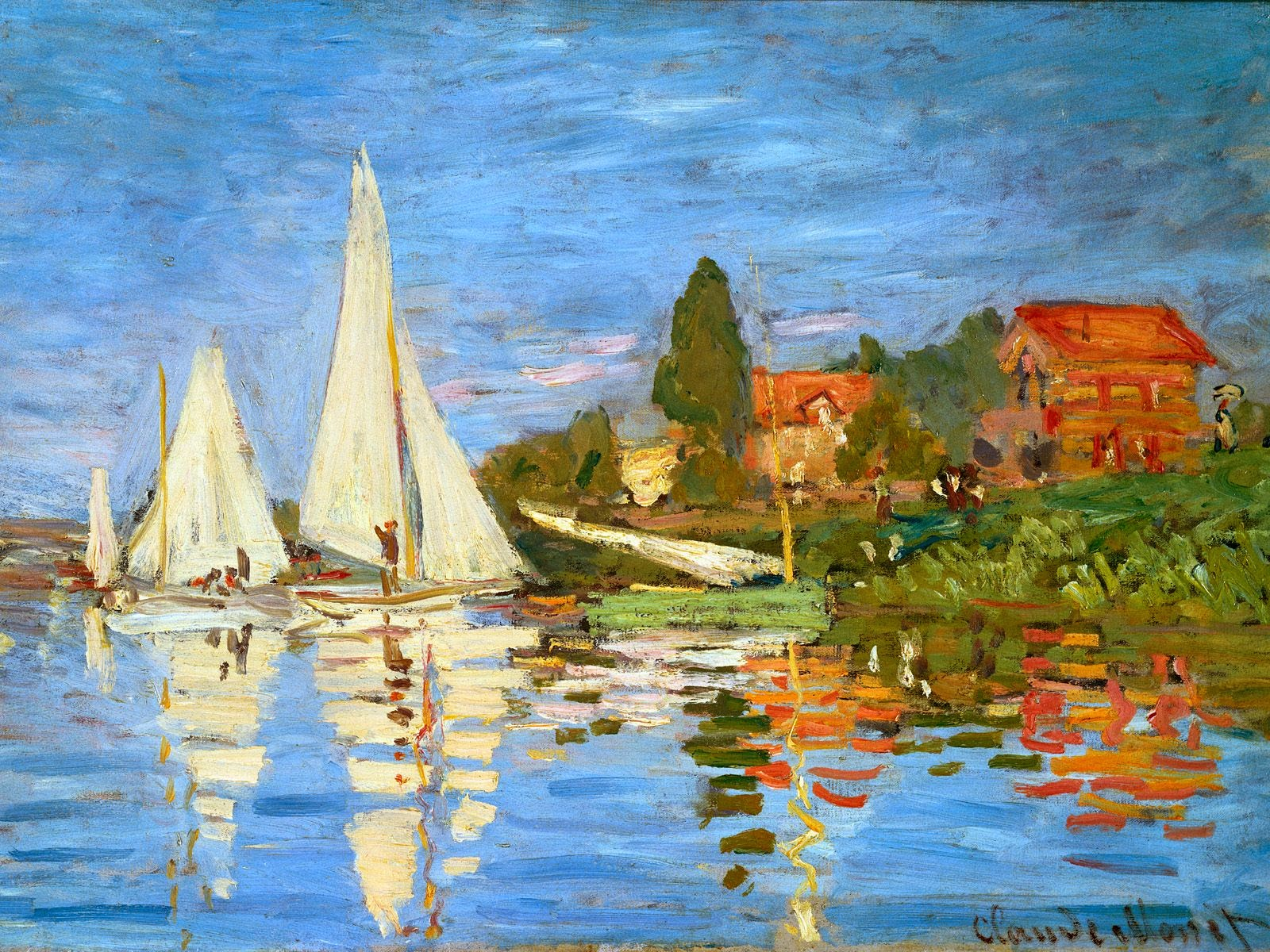 Biography of claude monet biography of famous people for Biographie claude monet