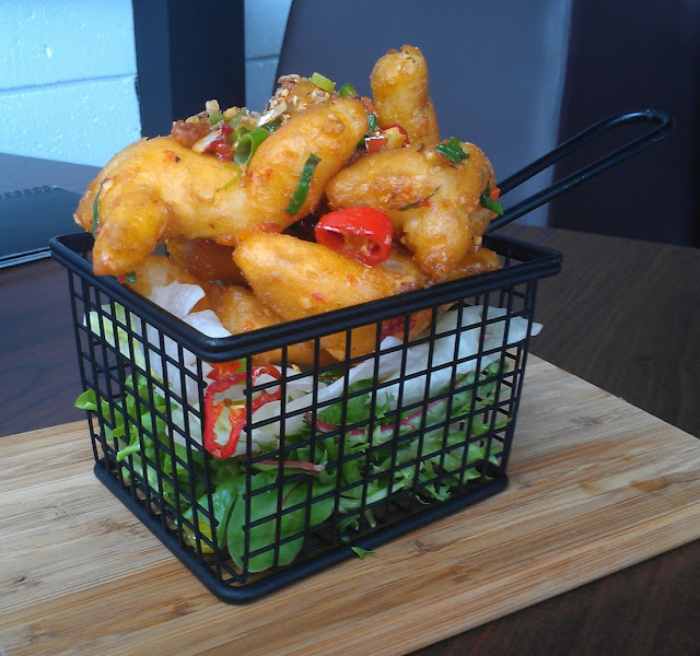 Block 7, yum cha, Camberwell, deep fried calamari