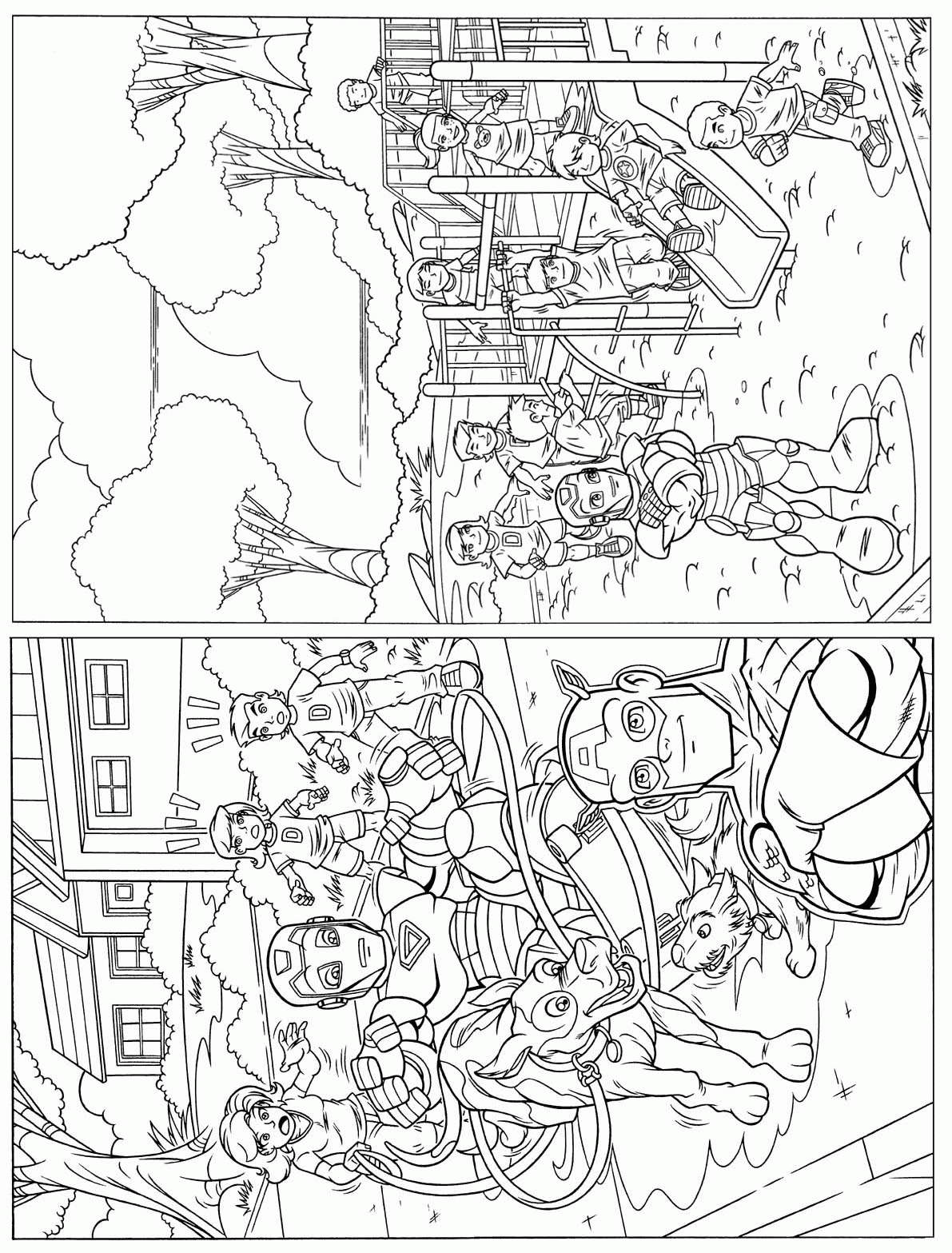best superhero squad coloring pages superhero coloring pages