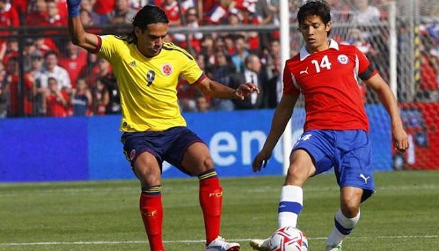Ver partido Chile vs Colombia en vivo