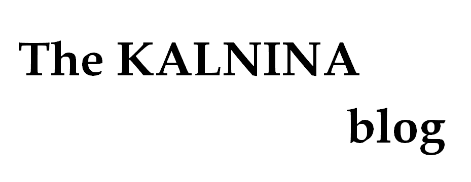 The KALNINA blog