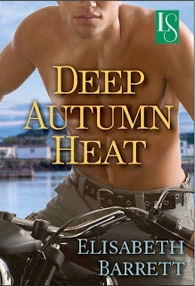 Book cover of Deep Autumn Heat by Elisabeth Barrett