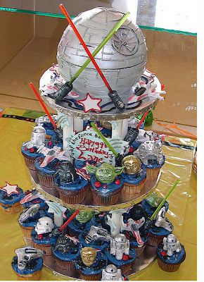 Star Wars cupcakes pictures