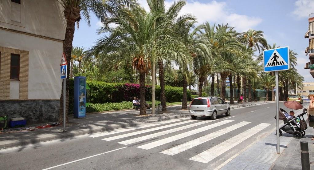 Ajuntament de santa pola oficina de comunicaci mejoras en el paso de peatones entre la senia - Oficina trafico elche ...