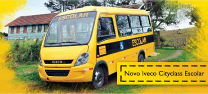 Adquira o ônibus IVECO Escolar