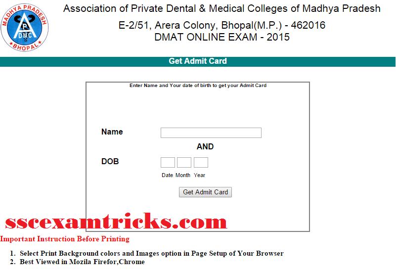 Aipmt Admit Card 2015 Pdf