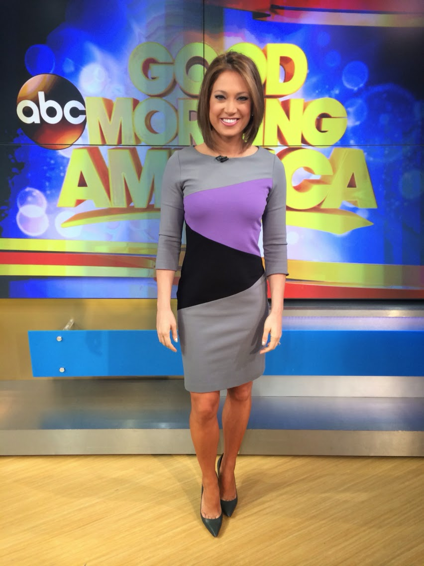 Ginger Zee Hot Pics regarding the toe cleavage blog: ginger zee weekend (day 2)