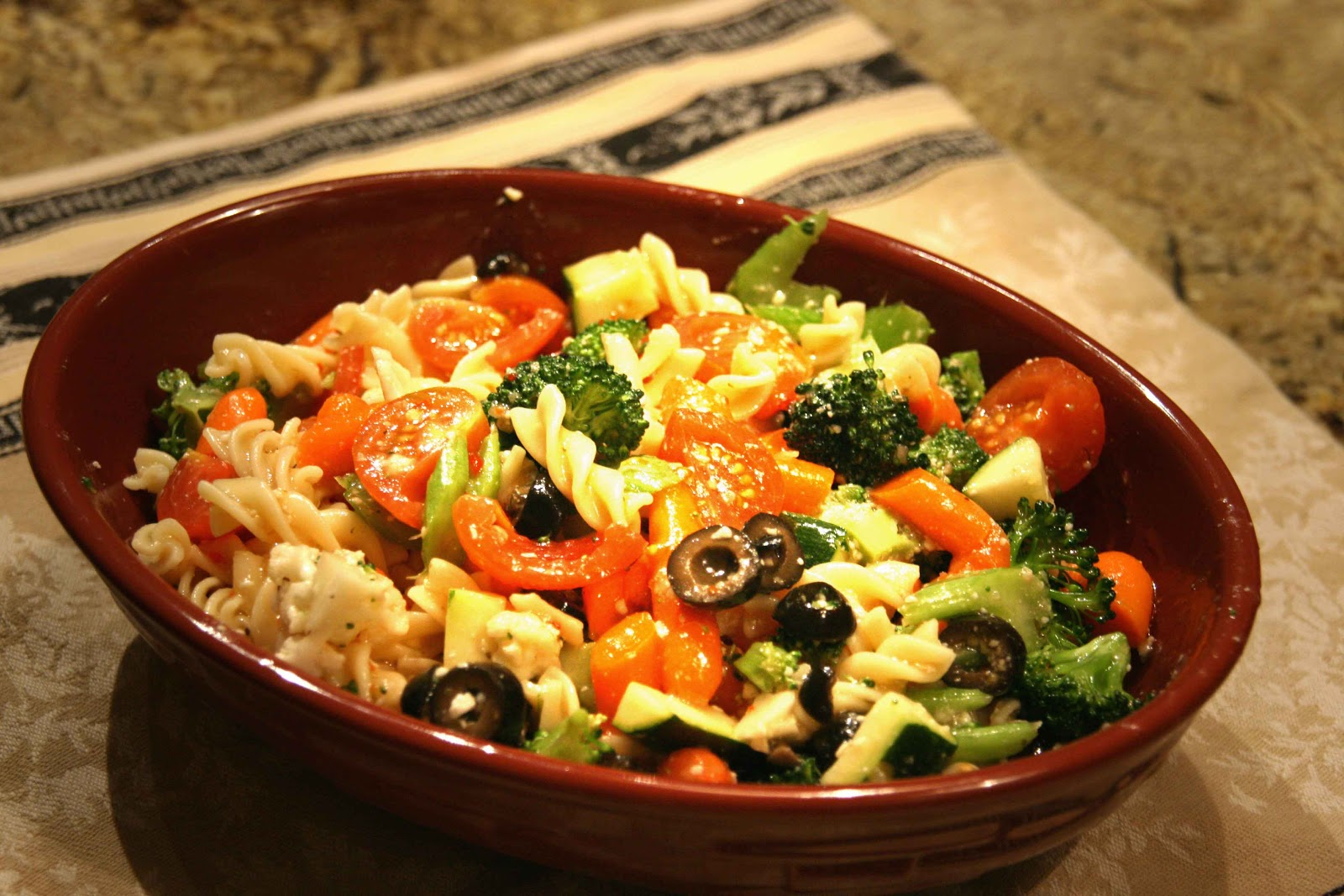 recipes magazine: Italian Pasta Salad