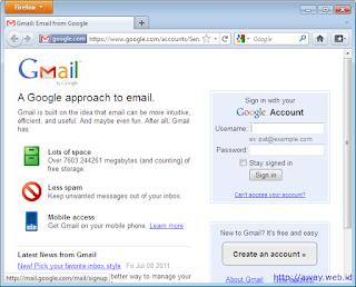 halaman depan gmail.com
