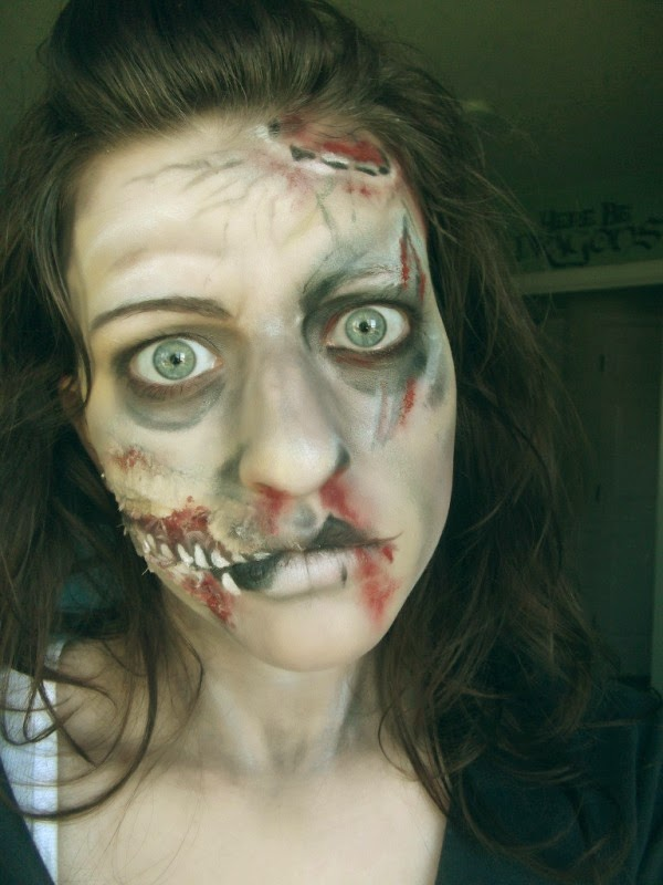 scary halloween face makeup ideas
