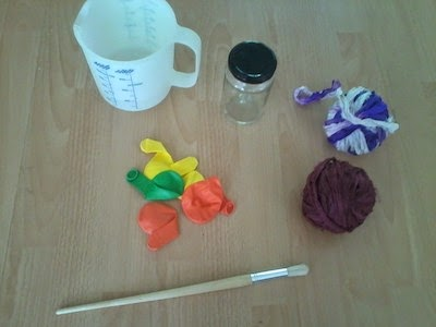 Benodigdheden yarn balls