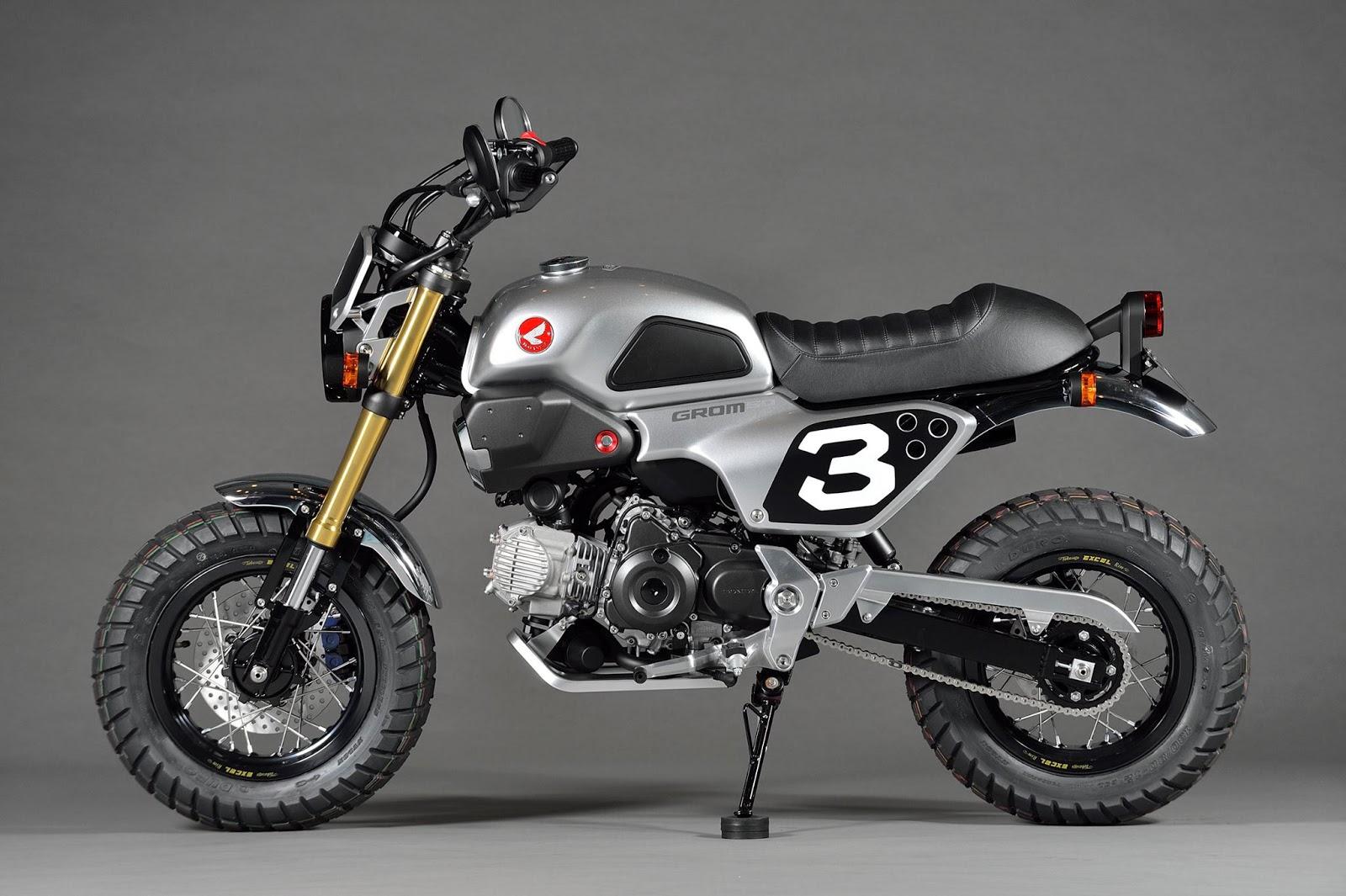 Planet Japan Blog: Honda Grom Scrambler Concept-One ...