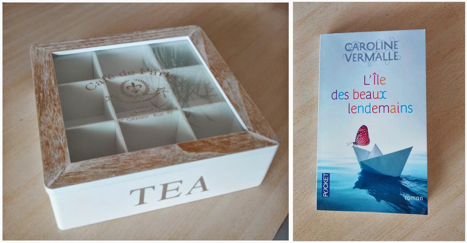 boite à thé et livre bullelodie
