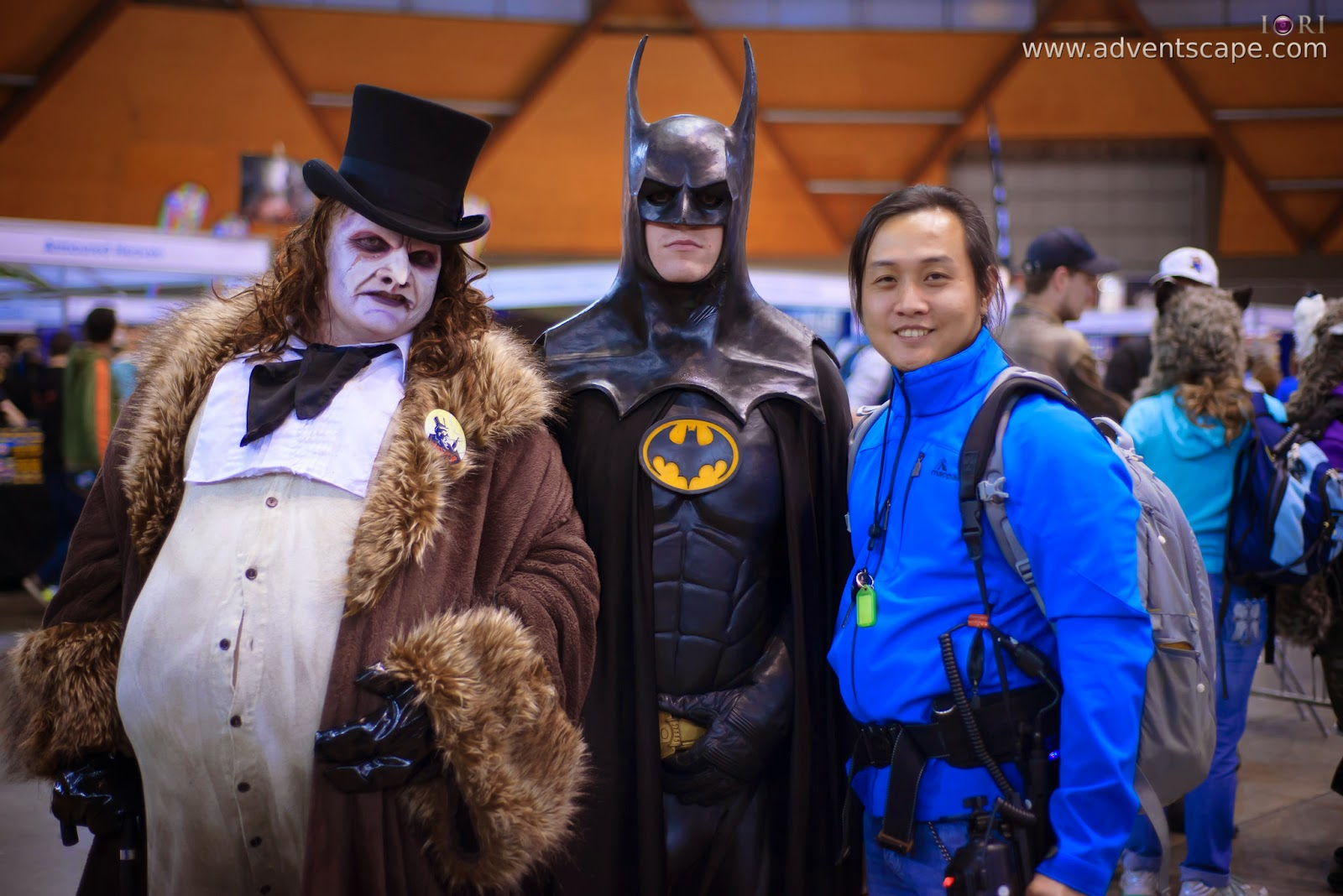 DC, Australia, Australian Landscape Photographer, Cosplay, Homebush, New South Wales, NSW, Philip Avellana, Sydney Olympic Park, Batman, Penguin, Tim Burton