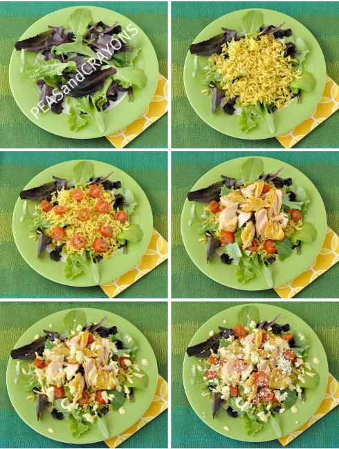 Salmon Chop Chop Salad