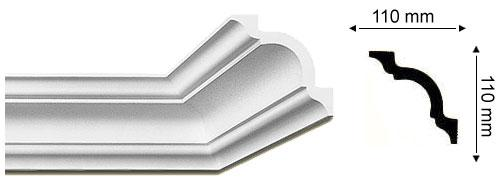 Sanca Importada Nomastyl - A = 15cm largura