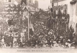 Festivités du 23 août 1908 - Cour-Cheverny