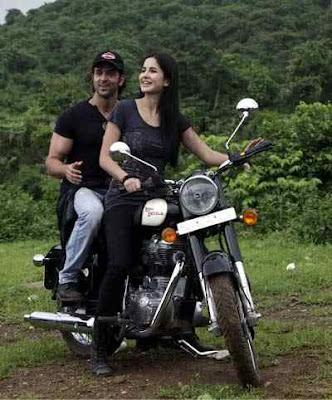 katrina kaif hrithik roshan bike ride