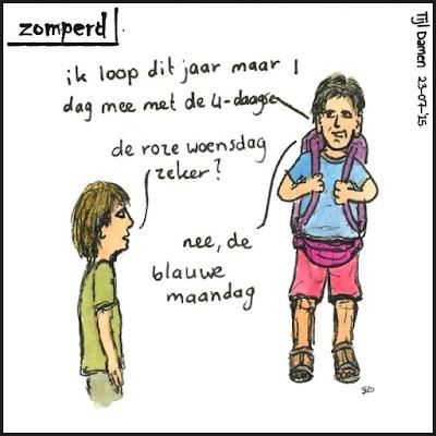 Zomperd - Eendaagse Nijmegen
