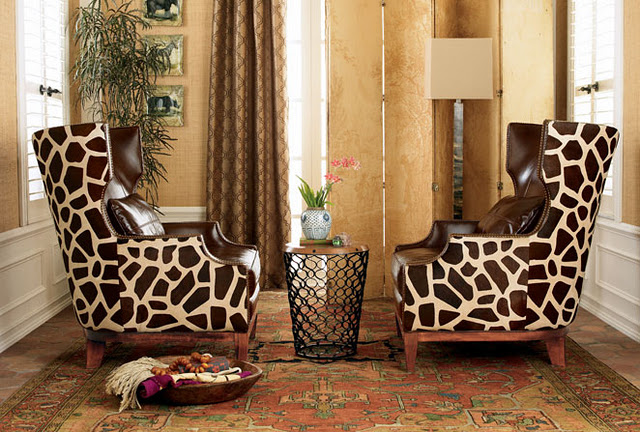Heather fulkerson interiors atlanta interior designer animal print rooms for Leopard print living room ideas