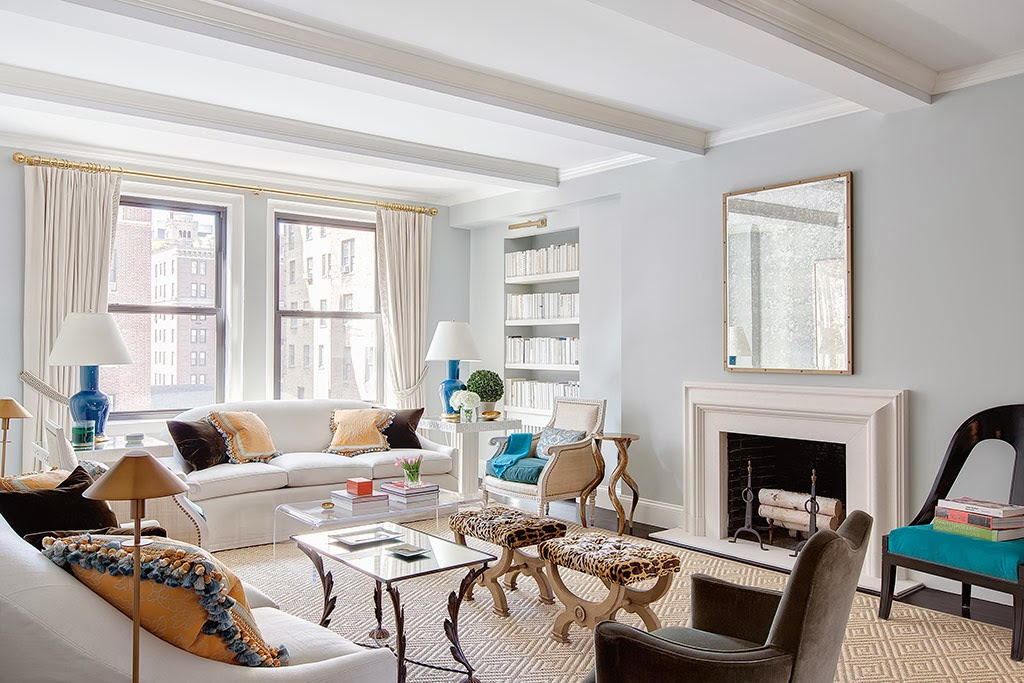 Moντέρνο διαμέρισμα στη Νέα Υόρκη-σαλόνι